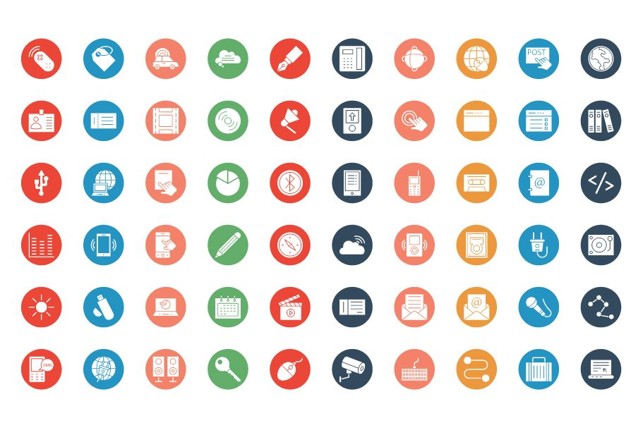 600 Communication Vector Icons Pack Screenshot 3