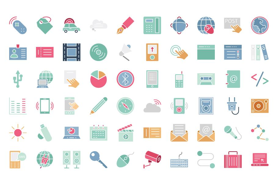 600 Communication Vector Icons Pack Screenshot 5
