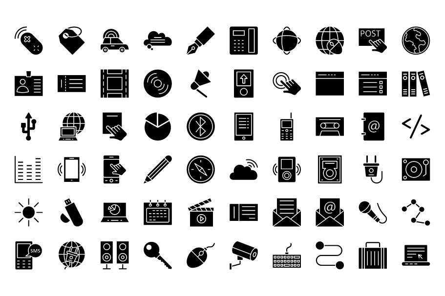 600 Communication Vector Icons Pack Screenshot 8