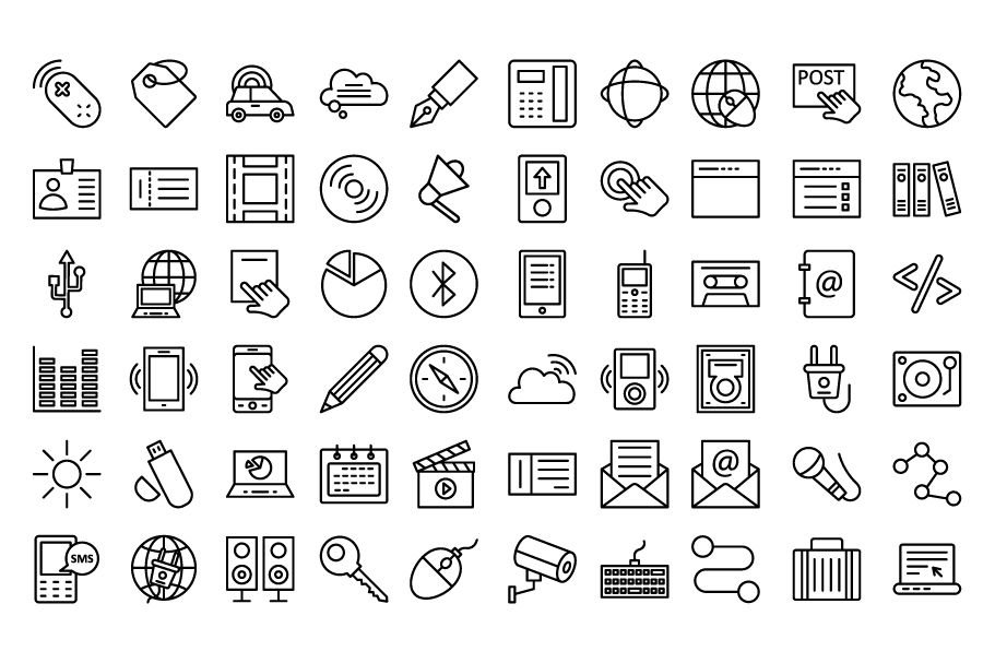 600 Communication Vector Icons Pack Screenshot 11