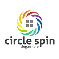 Circle Spin - Logo Template
