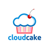 cloud-cake-logo-template