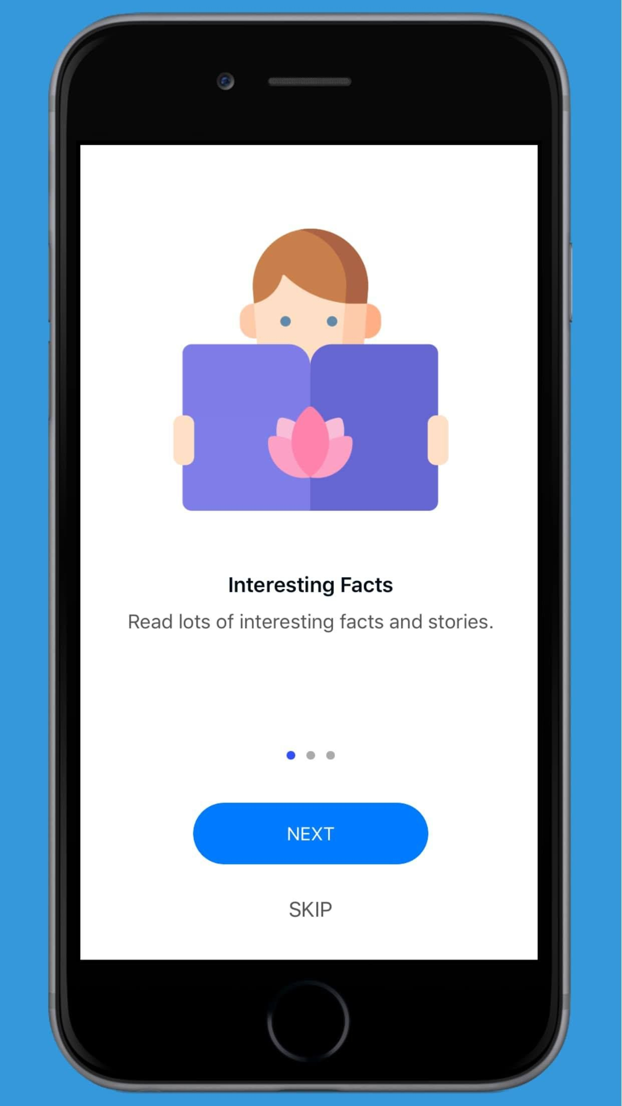 Facts World - iOS Facts and Notes Application Screenshot 3
