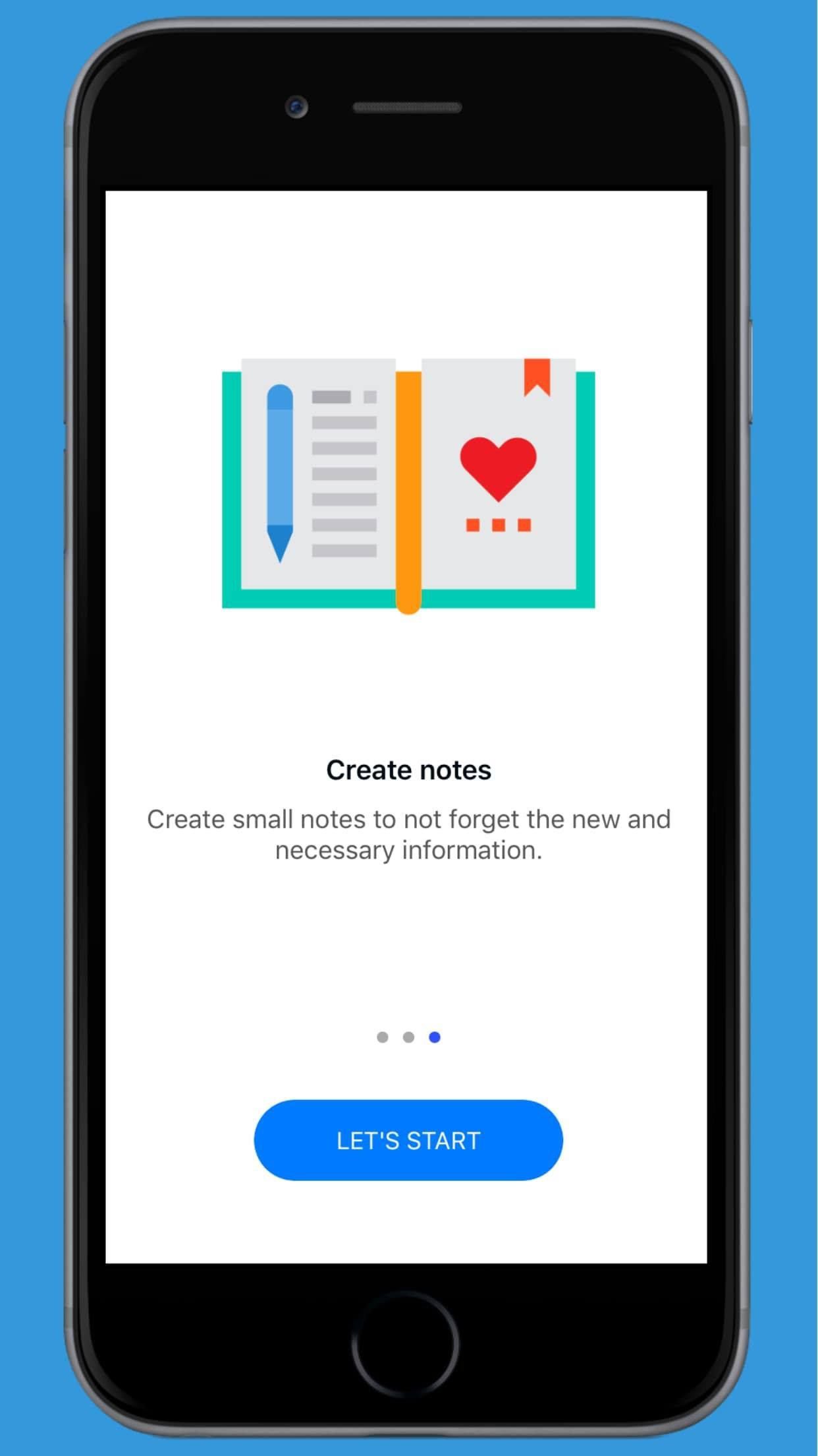 Facts World - iOS Facts and Notes Application Screenshot 4
