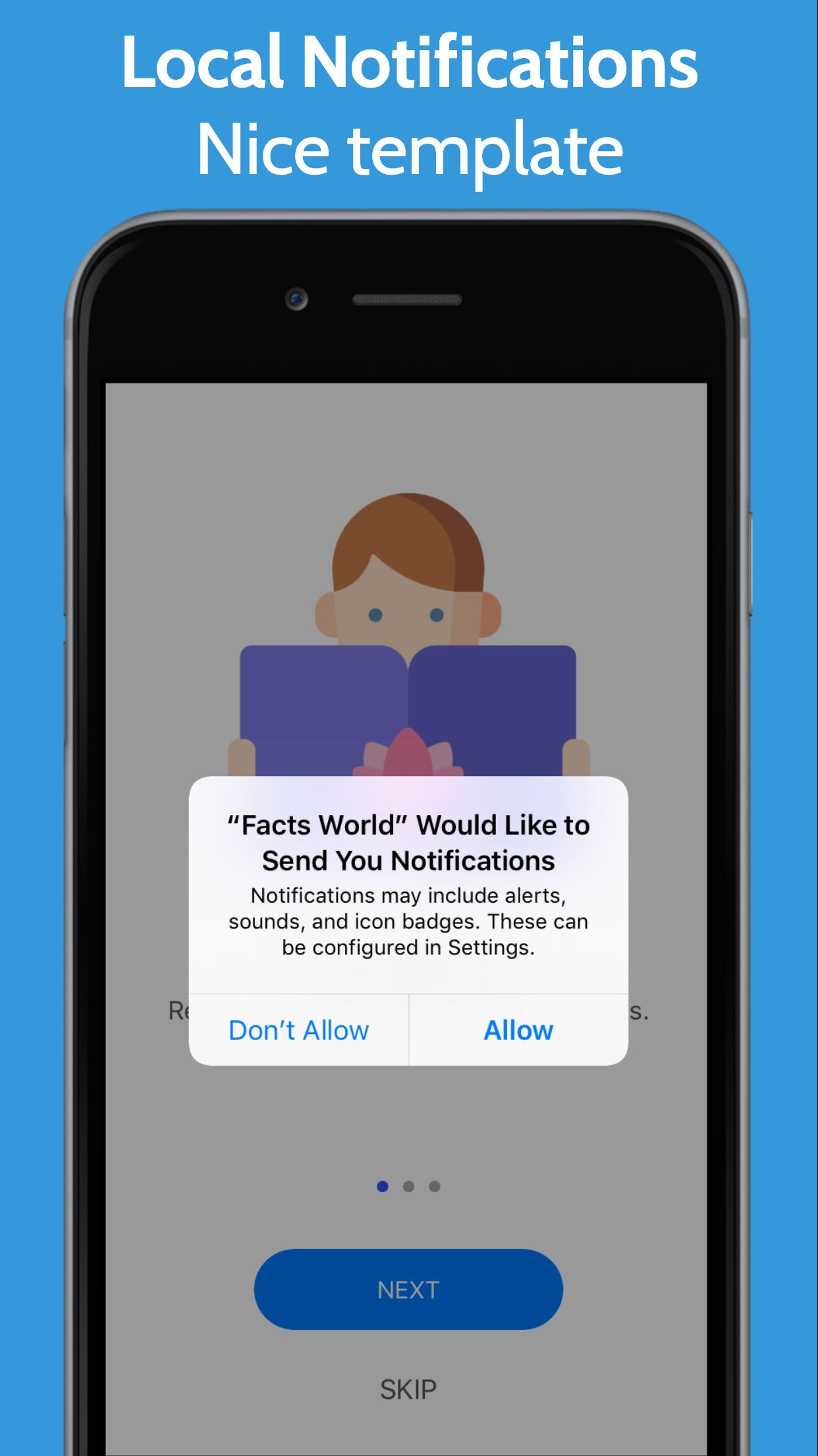 Facts World - iOS Facts and Notes Application Screenshot 8
