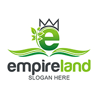Empire land - Logo Template