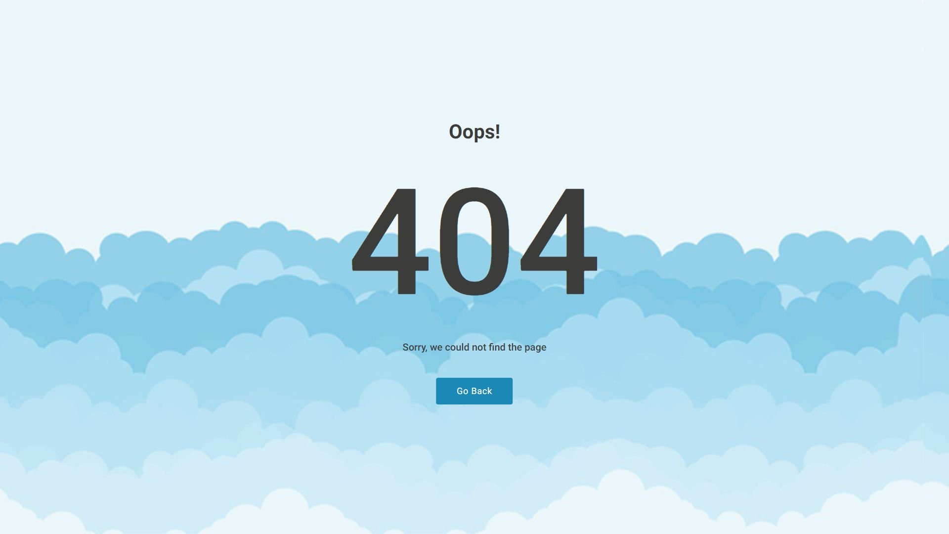Creative 404 Pages Screenshot 1