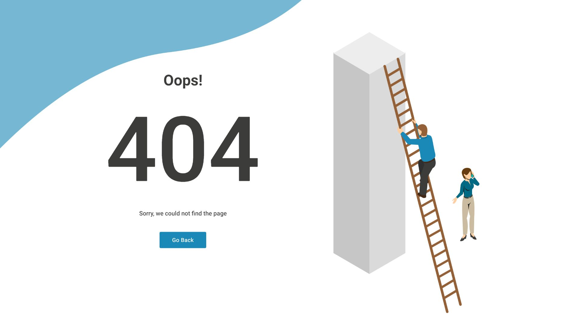 Creative 404 Pages Screenshot 3