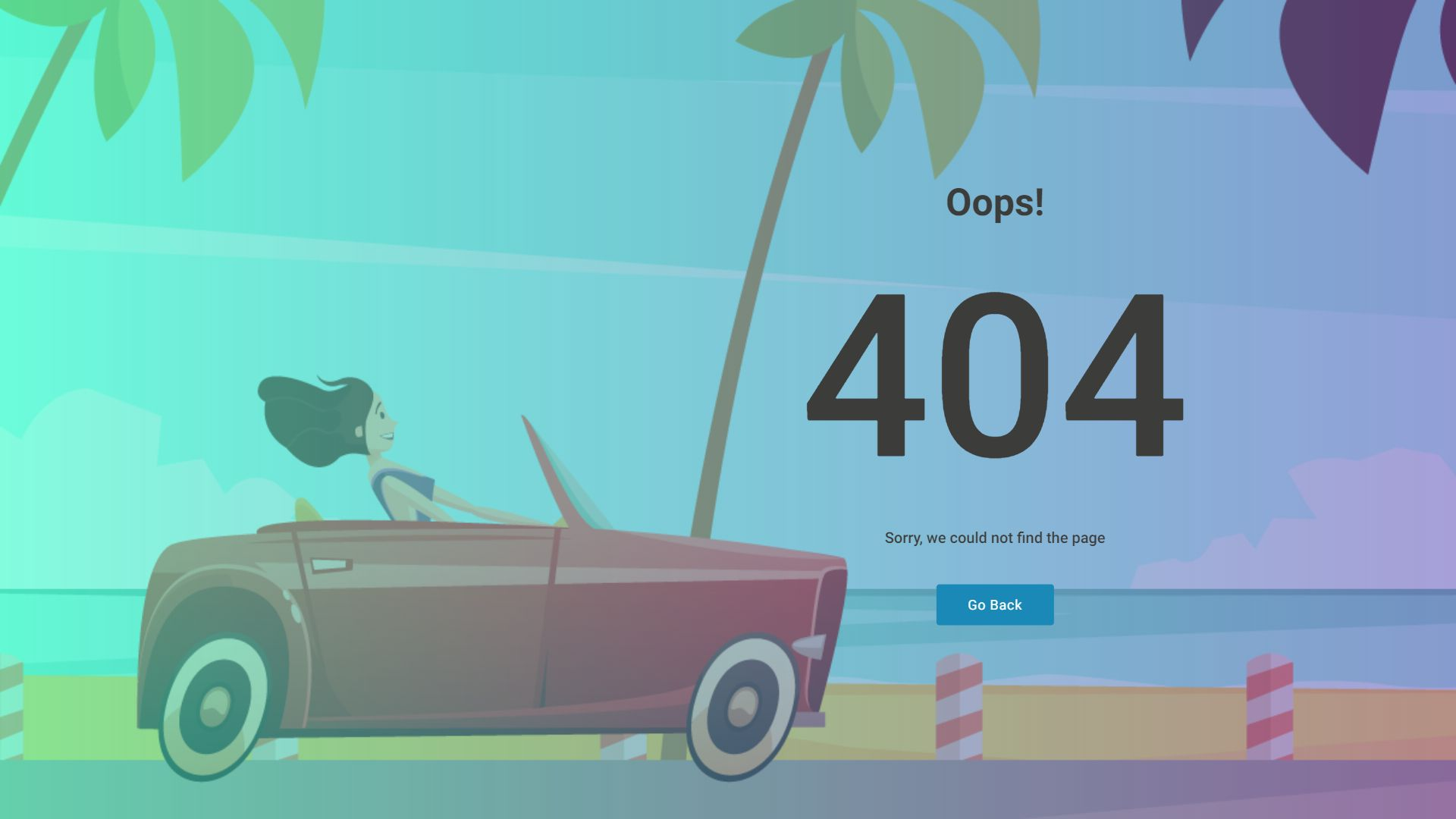Creative 404 Pages Screenshot 4