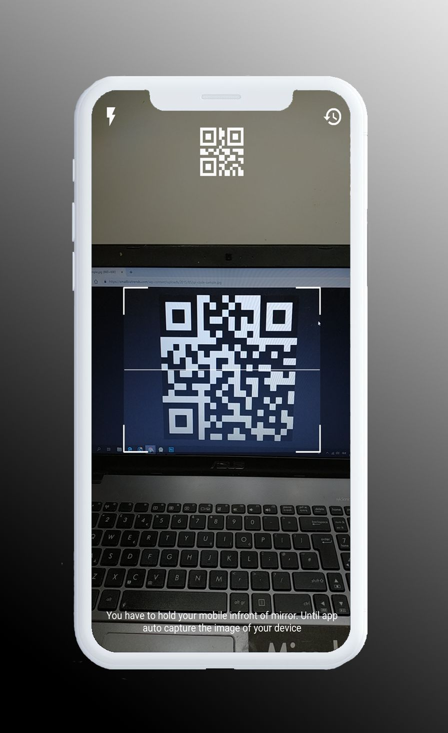 QR Scanner - Simple And Minimal Android App Screenshot 2