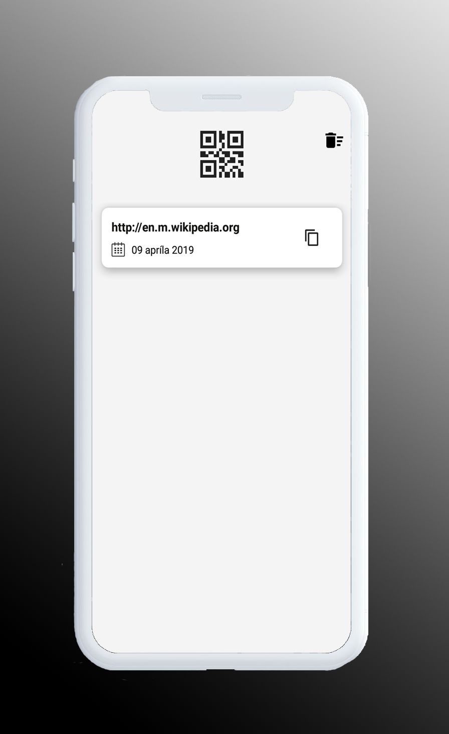 QR Scanner - Simple And Minimal Android App Screenshot 3
