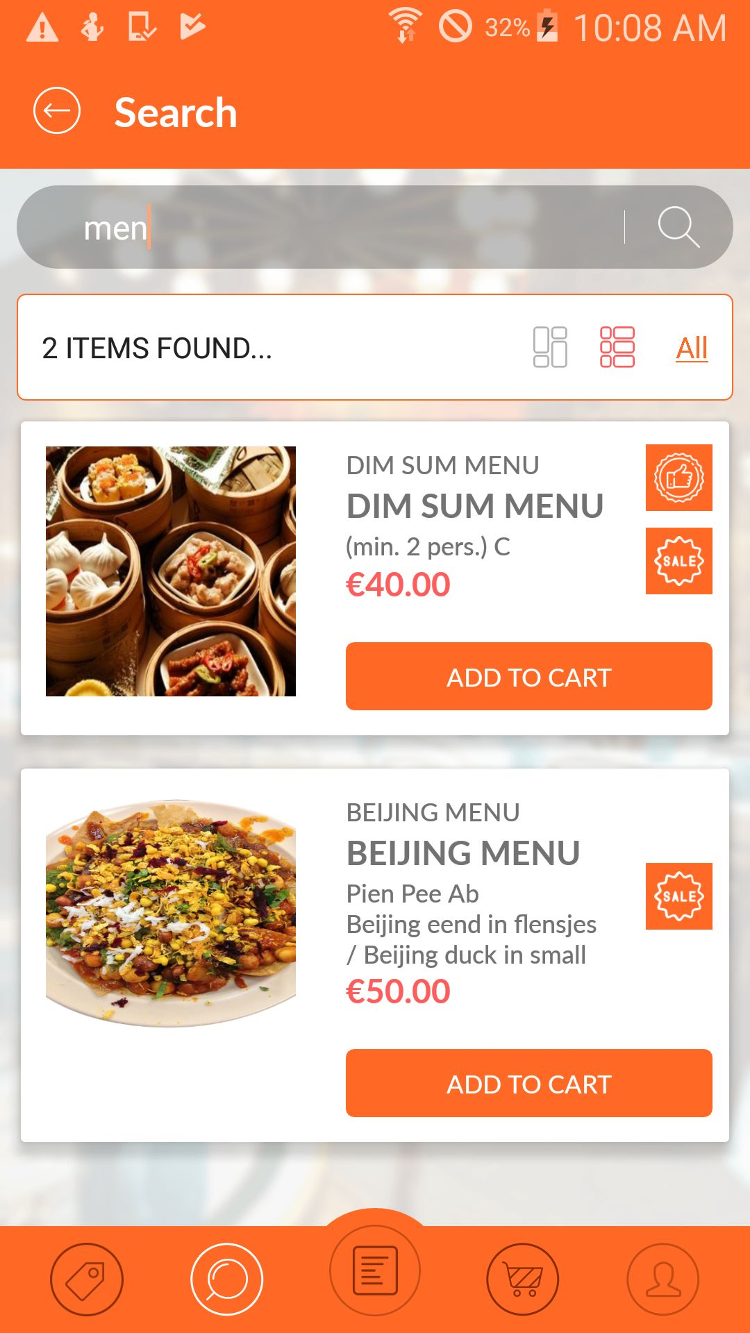 Restaurant Fastfood - Android App Source Code Screenshot 4