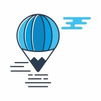 Flying Balloon Logo