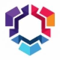 Gradation Hexagon Logo