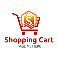 Shopping Cart - Logo Template