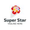 super-star-logo-template