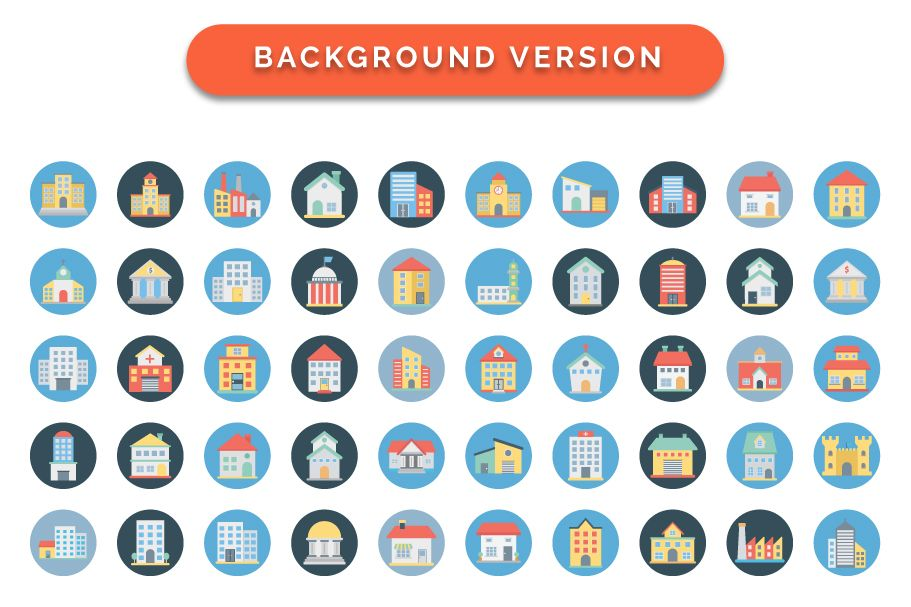 300 Building Vector Icons Pack  Screenshot 3