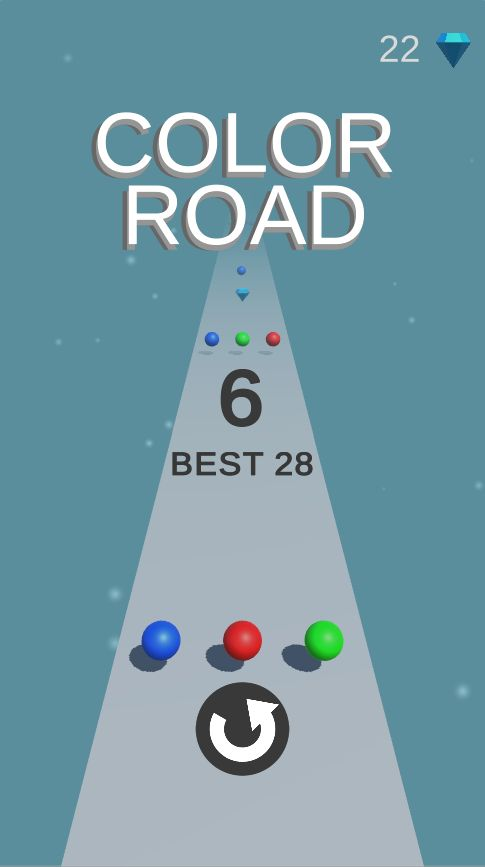Color Road - Complete Unity Game  Screenshot 7