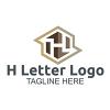 h-letter-logo-template