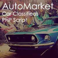 AutoMarket - Car Classifieds Script PHP