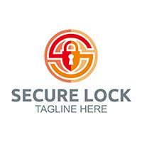 Lock Secure - Logo Template