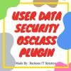 Osclass User Data Security Plugin