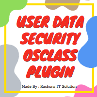 Osclass User Data Security Plugin