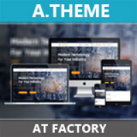 AT Factory - Joomla Template