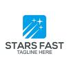 Stars Fast - Logo Template