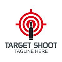Target Shooting - Logo Template
