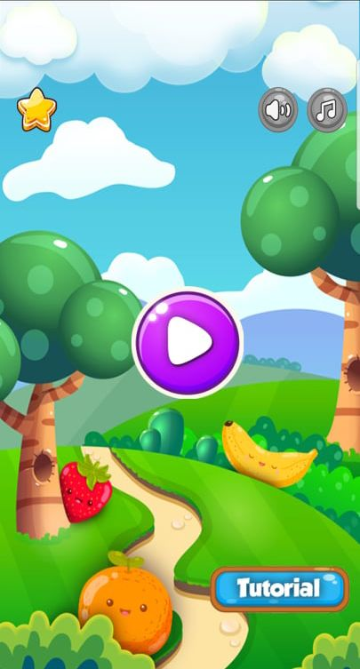 Farm Fruit 3 Match Game Template Unity Screenshot 2