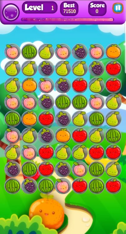Farm Fruit 3 Match Game Template Unity Screenshot 5