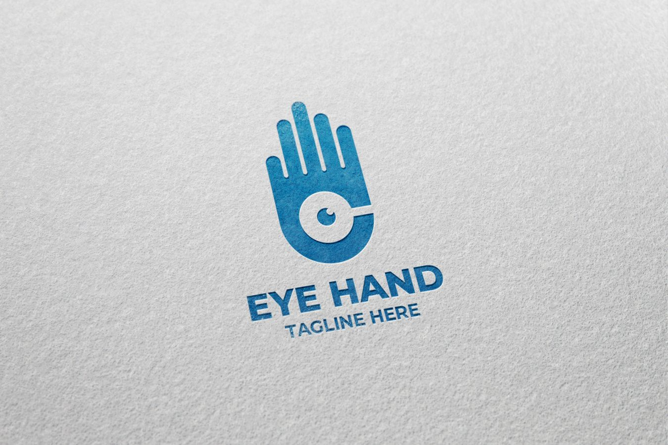 Hand Eye Logo Design Screenshot 1