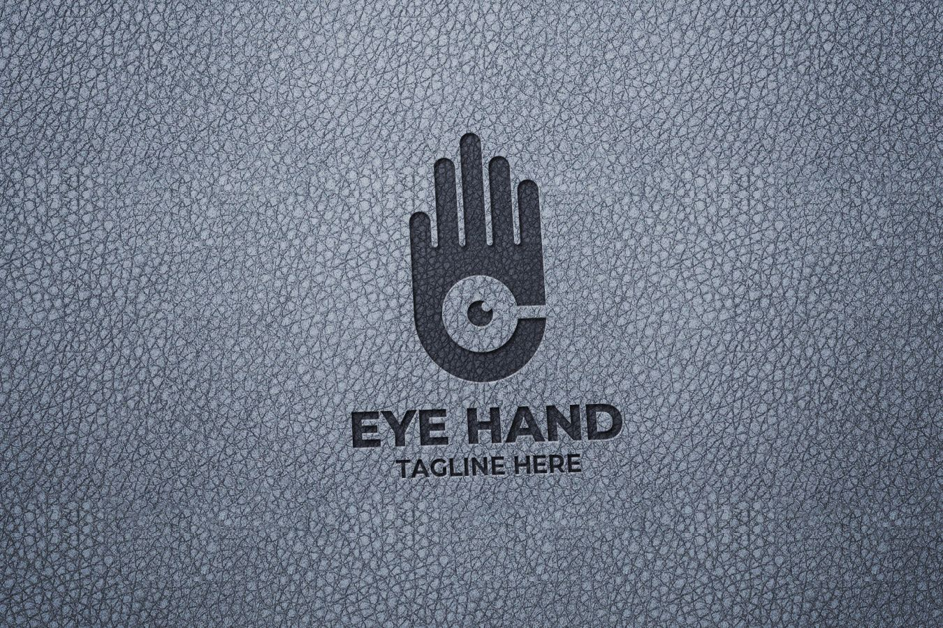 Hand Eye Logo Design Screenshot 2