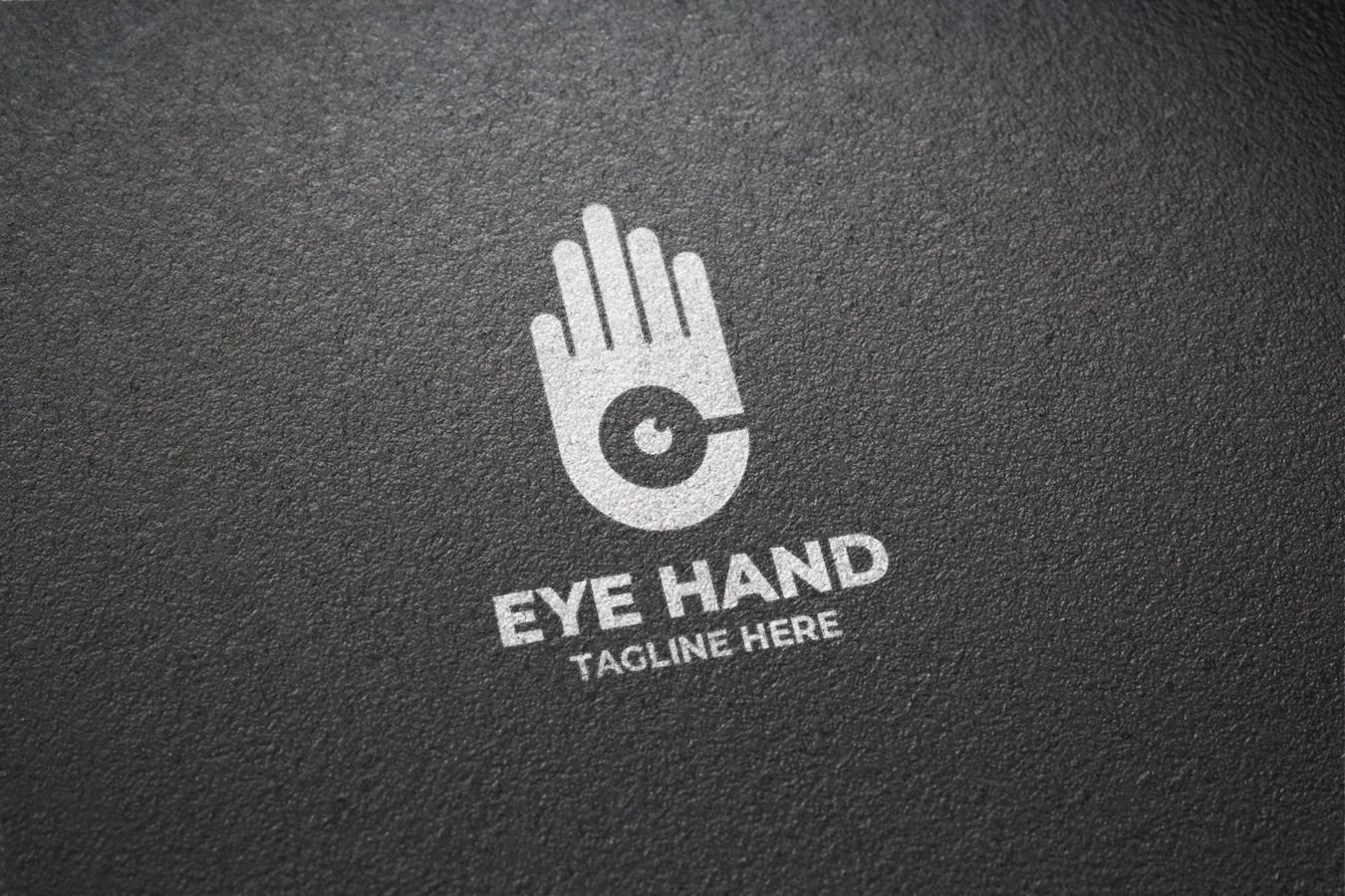 Hand Eye Logo Design Screenshot 3