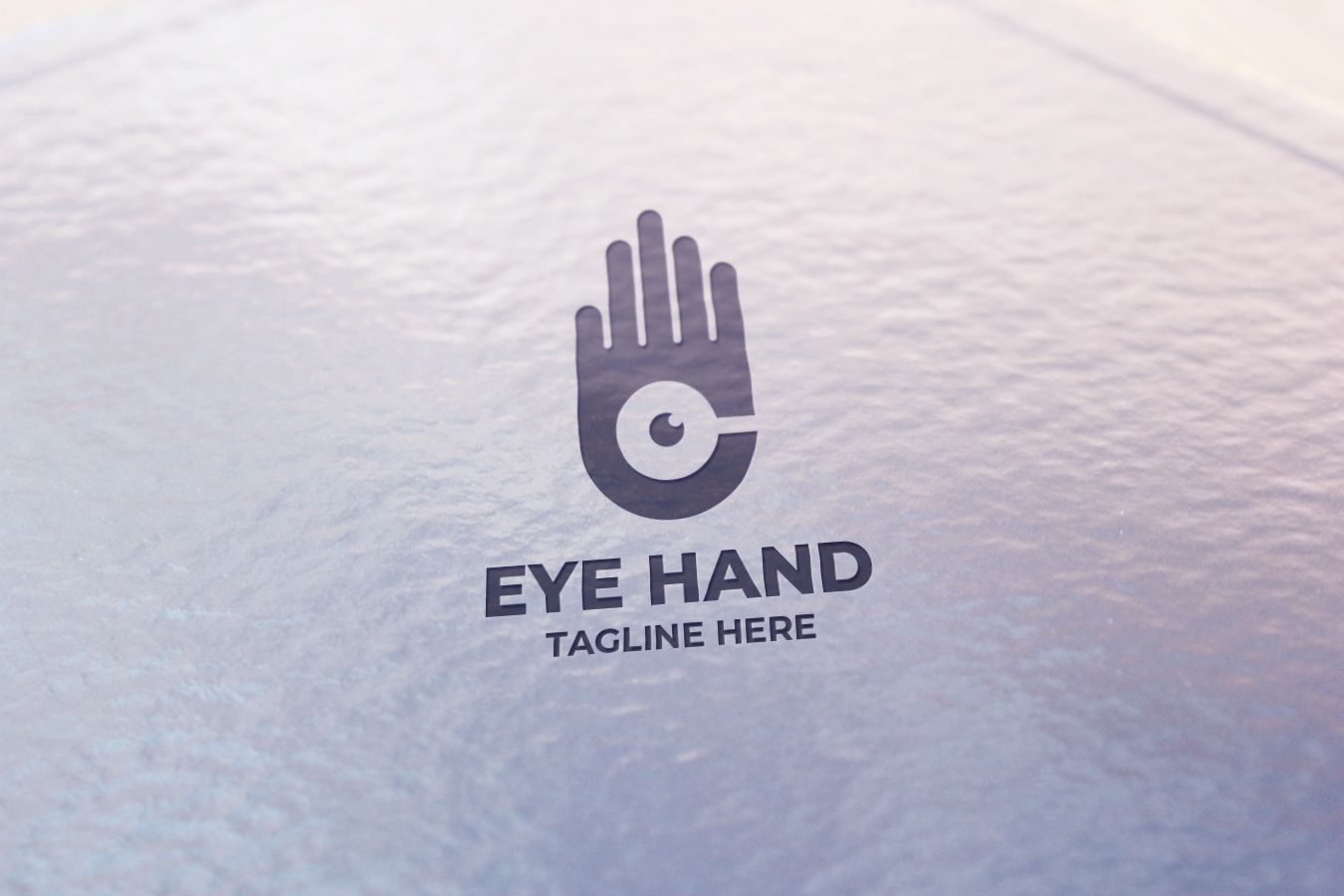 Hand Eye Logo Design Screenshot 4
