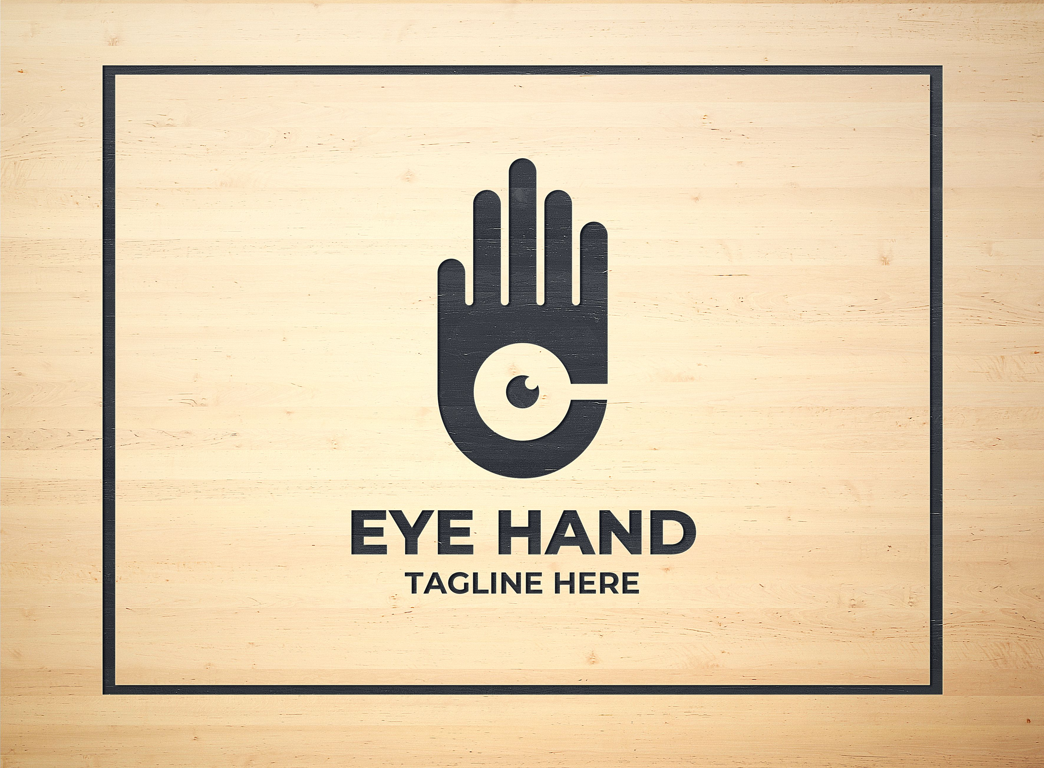 Hand Eye Logo Design Screenshot 5