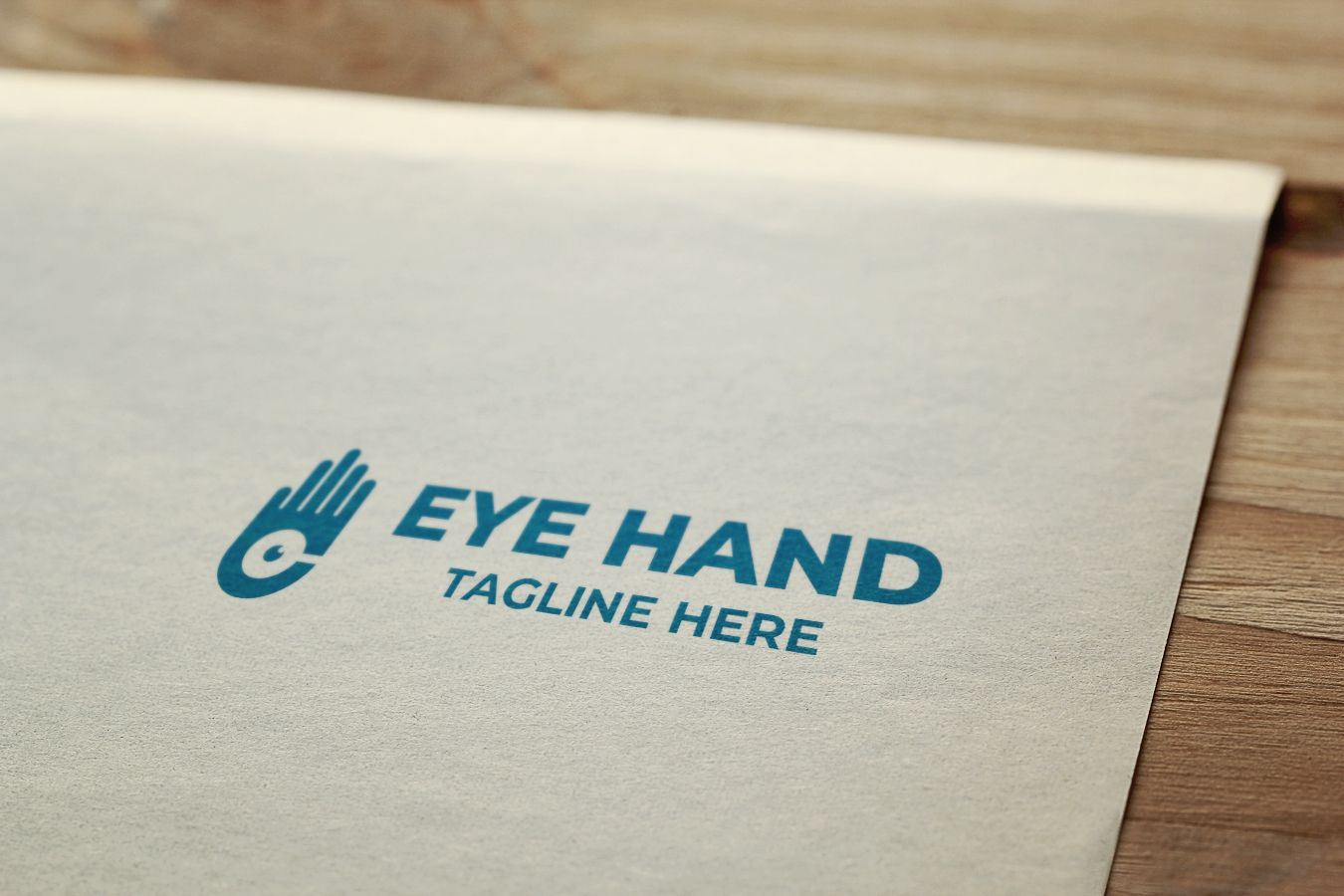 Hand Eye Logo Design Screenshot 6