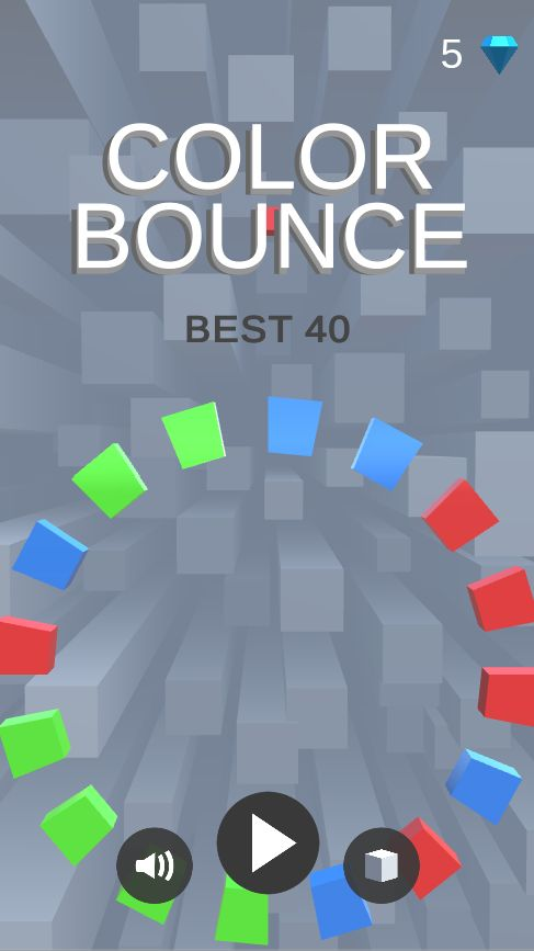 Color Bounce - Complete Unity Game Screenshot 1