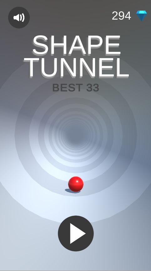Shape Tunnel - Complete Unity Game  Screenshot 1
