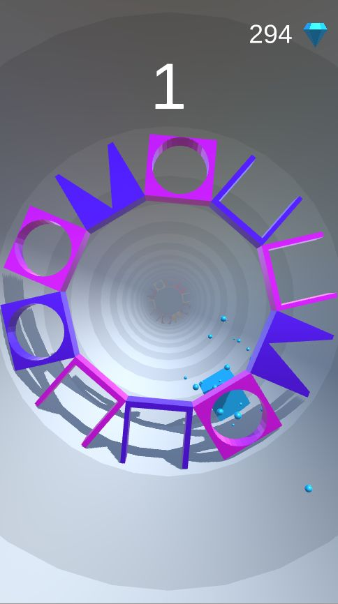 Shape Tunnel - Complete Unity Game  Screenshot 2