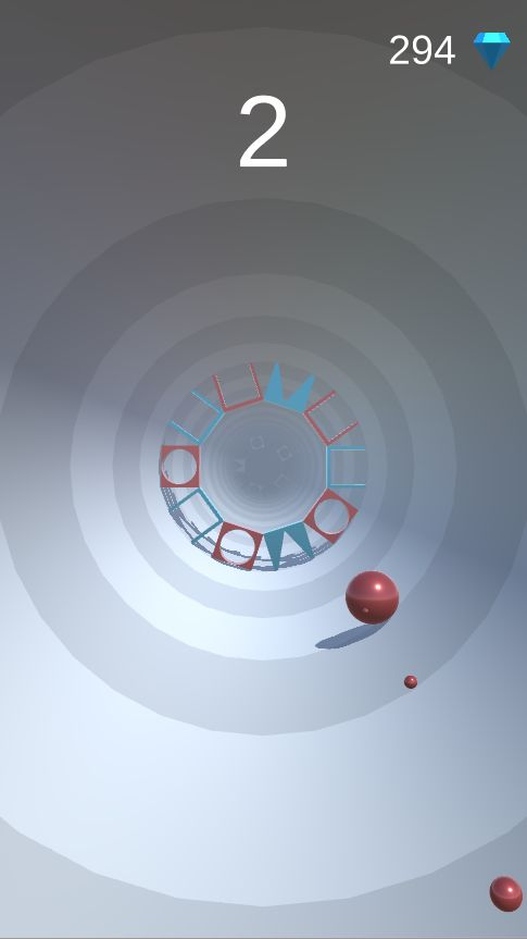 Shape Tunnel - Complete Unity Game  Screenshot 4