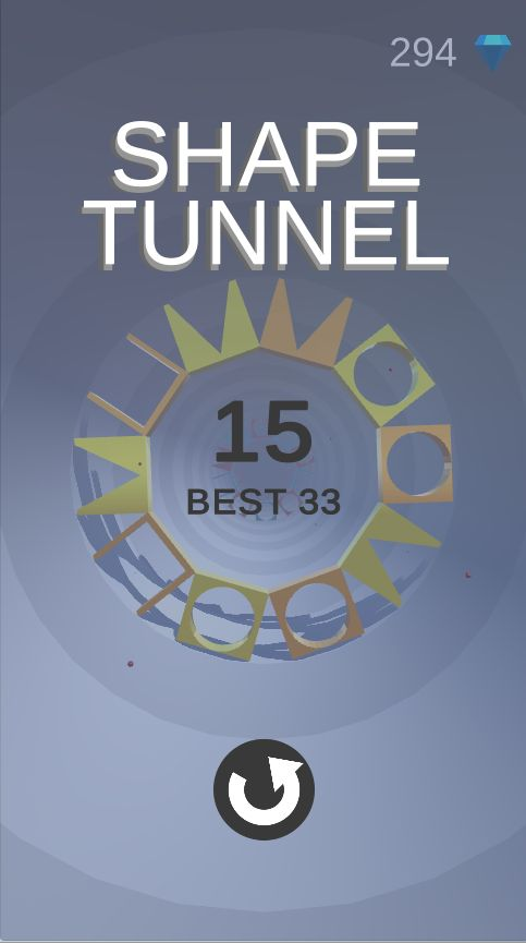 Shape Tunnel - Complete Unity Game  Screenshot 8