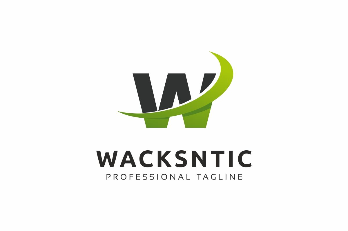 Wacksntic W Letter Logo Screenshot 1