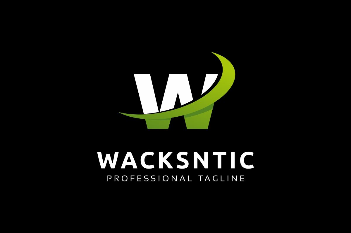 Wacksntic W Letter Logo Screenshot 2