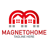 Magneto Home - Logo Template