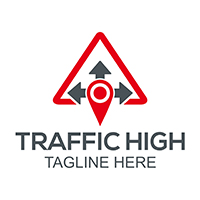 Traffic Highway - Logo Template
