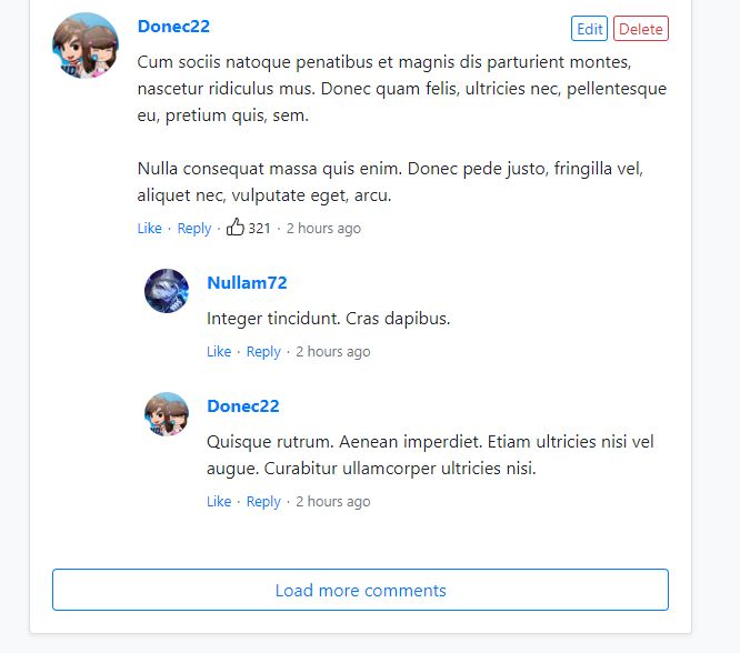 Comment System PHP Screenshot 3