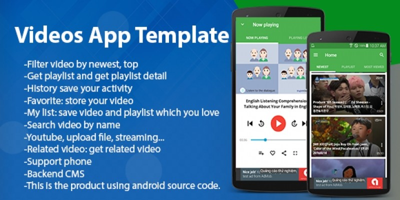 Videos Streaming - Android App Template