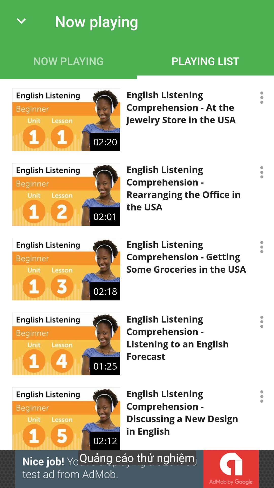 Videos Streaming - Android App Template Screenshot 6